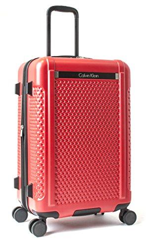 Calvin Klein Driver 24'' Hardside Spinner, Red by Calvin Klein