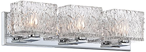 3 Wide Dresser - Lavonia Chrome 20 1/2