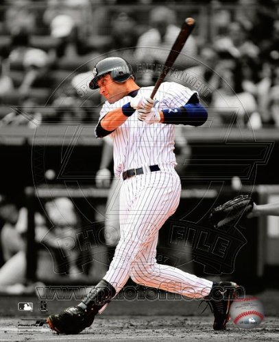 Derek Jeter New York Yankees Spotlight Photo ()