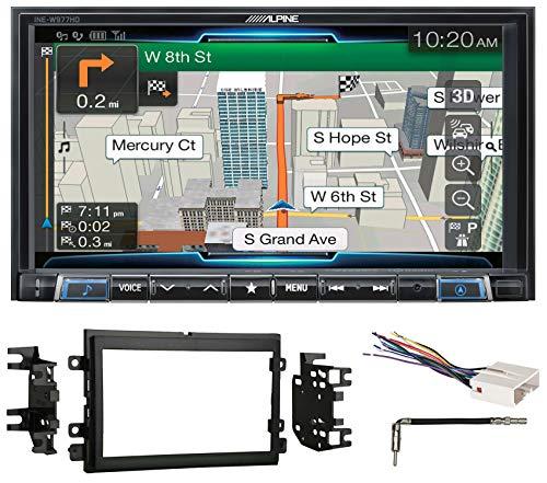 "Alpine 7"" Bluetooth Receiver w/Navigation/GPS/Carplay for 2007-2008 Ford F-150"