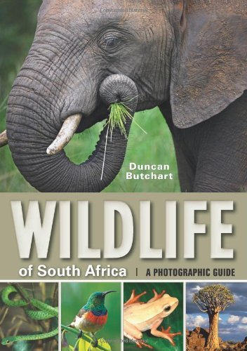 Wildlife of South Africa: A Photographic Guide [Paperback] [2009] (Author) Duncan Butchart