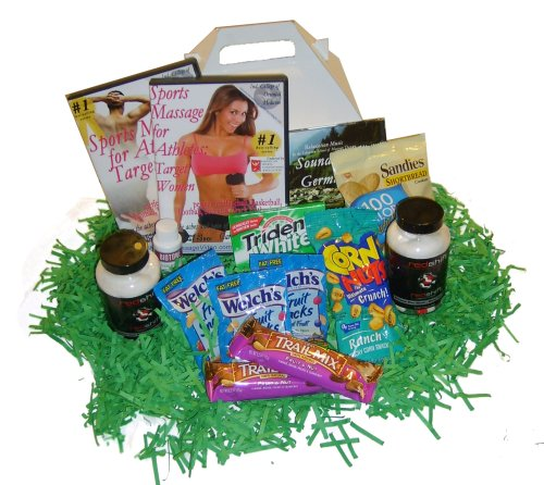 Sports Entusiast Gift Basket Kit: Perfect for Athletes Sports Massage DVD, CD, Bonus DVD (3 DVD/1 CD)