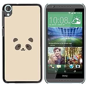 Stuss Case / Funda Carcasa protectora - Cute Panda Face - HTC Desire 820