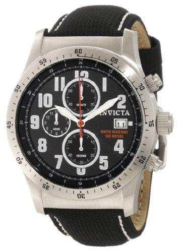 Invicta Men's 1315 Specialty Chronograph Black Techno Watch, Watch Central