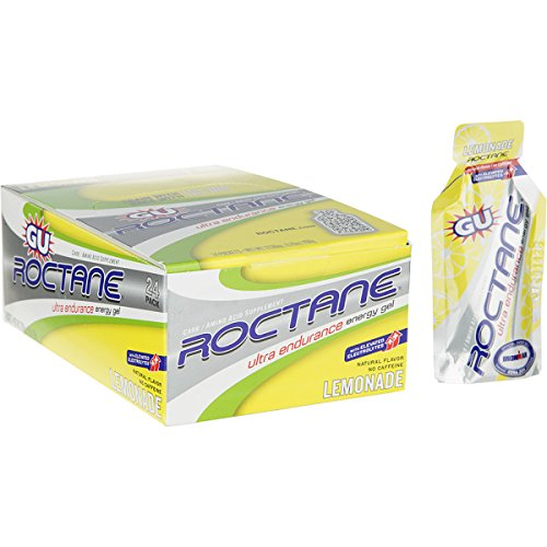 GU Roctane Energy Gel - 24-Pack Lemonade, One Size - Men's