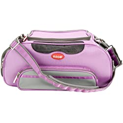 Teafco Argo Large Aero-Pet Airline-Approved Pet Carrier, Petal Pink