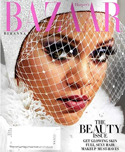 Harper's Bazaar Magazine (May, 2019) The Beauty Issue Rihanna - Covers Bazaar Magazine