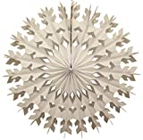 6-pack 22 Inch Large Tissue Paper Snowflake (White)