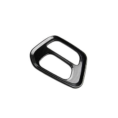 jstotrim Carbon Fiber Look Control Gears Panel Protective Cover molding Trims Accessories for 2015 2016 2020 2020 2020 2020 Dodge Challenger Accessories: Automotive