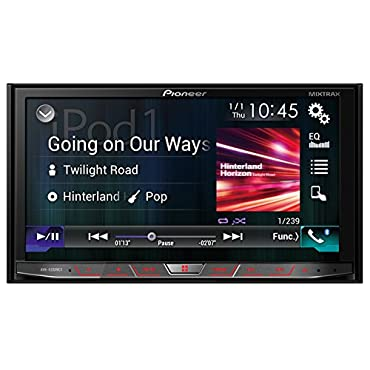 Pioneer AVH4200NEX 2-DIN Receiver with 7 Motorized Display/Built-In Bluetooth/Siri Eyes Free/AppRadio One/NEX
