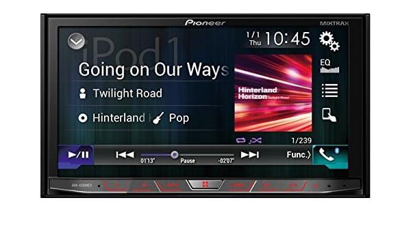 Pioneer AVH-4200NEX Receptor Multimedia para Coche - Radio para Coche: Amazon.es: Electrónica
