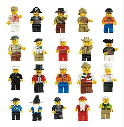Generic-Men-People-Minifigures-Toy-Lot-of-20