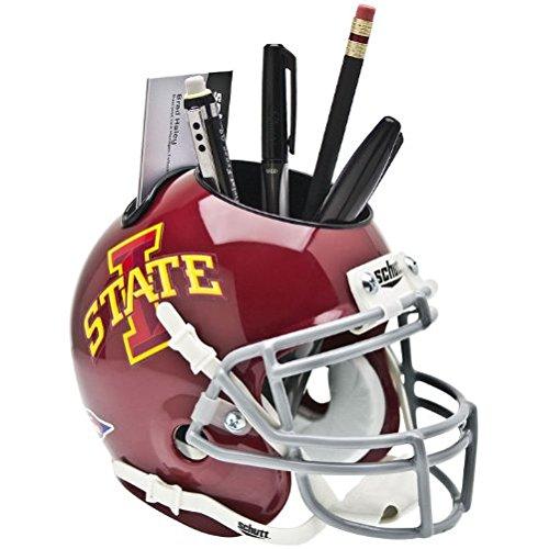 Iowa State Desk (NCAA Iowa State Cyclones Mini Helmet Desk Caddy)