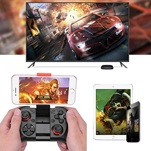 Blue-Ocean-11 MOCUTE Wireless Game Controller Joystick Gamepad Joypad Rechargeable Gamepad with Phone Holder For PC Android//iOS Phone