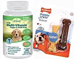 Your puppy will love these multivitamins and minerals along with this Nylabone Puppy Chew for hours of fun!