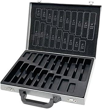 KRAFTWERK 10910K - Estuche vacio para brocas 1-10 mm: Amazon.es: Bricolaje y herramientas