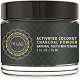 Teeth Whitening Charcoal Powder with Spearmint Flavor,Natural Organic Coconut Charcoal for Brightening Teeth and Fresh Breath