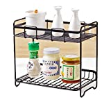 Comaba Shelving Unit Translucent Leveling Feet Wire Storage Wall Mounted Turn-N-Tube 4-Tier Dressy Hot Sale Closet AS1 2 shelves
