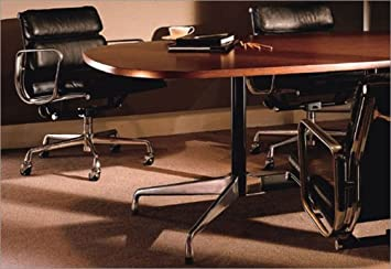 Amazoncom Herman Miller Eames Series Eames Oval Conference Table - Eames oval conference table