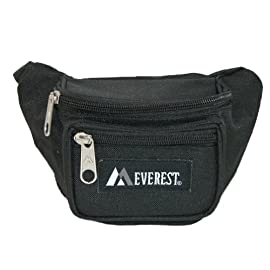 "Everest Signature Waist Pack - Junior 8 Dimensions 8"" x 2.5"" x 3.5"" (LxWxH) The convenience of a waist pack in a kid-friendly size Two zippered compartments"