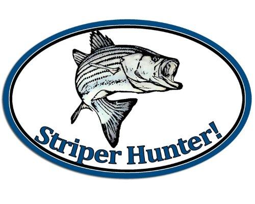 oval-striper-hunter-sticker-fish-fishing-decal