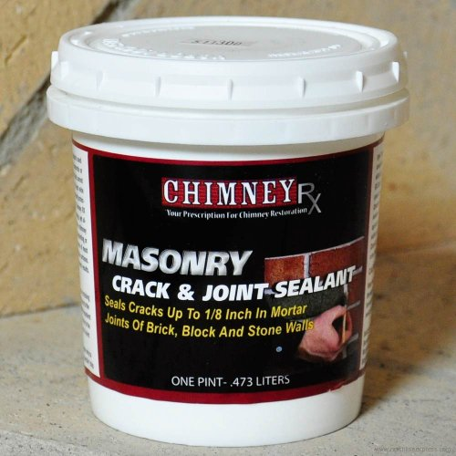 ChimneyRx Masonry Fireplace Crack & Joint Sealant - 1 Pint