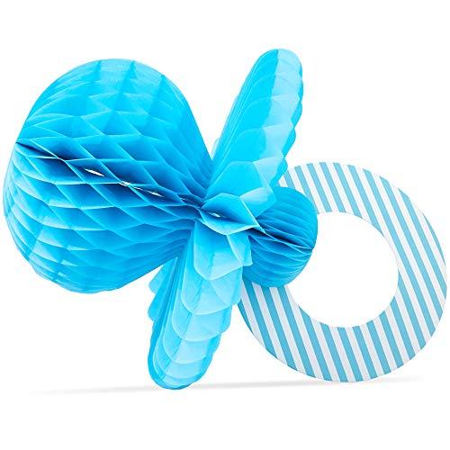 Baby Shower Table Centerpiece Ideas (Blue Panda Honeycomb Pacifier Centerpiece Baby Boy Shower Party Decor (6)