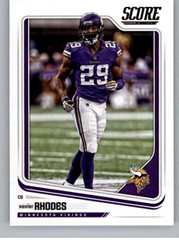 Football NFL 2018 Score #204 Xavier Rhodes #204 EX/NM Vikings