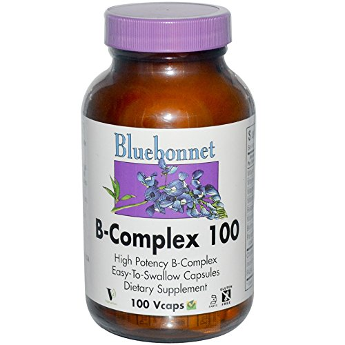 B-Complex 100 By Bluebonnet – 100 Vegetarian Capsules