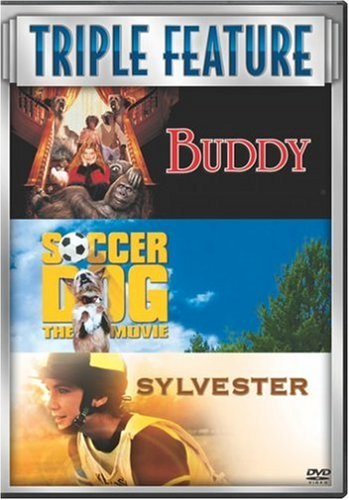 DVD : Buddy/ Soccer Dog/ Sylvester [Box Set] [3 Discs] (Boxed Set, 3 Disc)