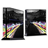 MightySkins Protective Vinyl Skin Decal Cover for Sony PlayStation 4 PS4 Console wrap sticker skins Speed