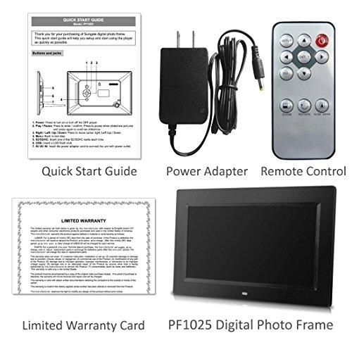 Amazon.com: Sungale PF1025 10-Inch Digital Photo Frame with Hi ...