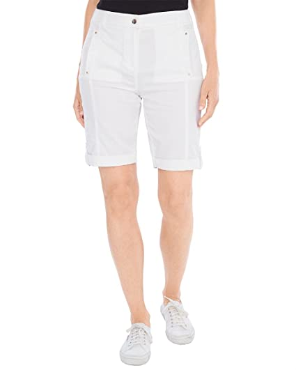 729e195813 Chico's Women's Comfort Waist Utility Shorts - 10 Inch Inseam Size 0/2 XS (