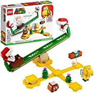 LEGO Super Mario Piranha Plant Power Slide Expansion Set 71365; Building Kit for Kids to Combine with The Supe