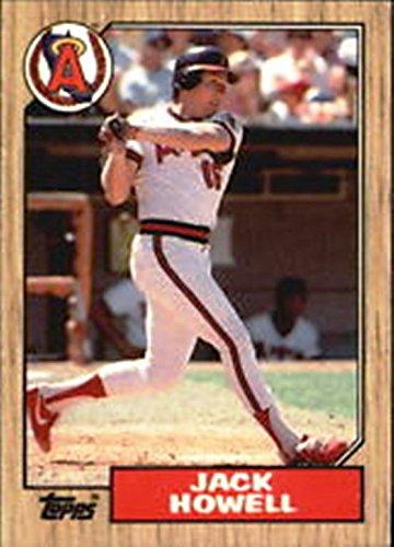 Howell Jack - 1987 Jack Howell #422 Baseball Card