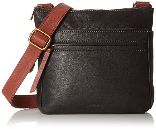 Fossil Corey Crossbody Bag, Black by Fossil