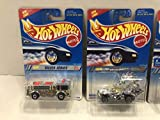 1995 Hot Wheels SILVER SERIES diecast SET of FOUR
