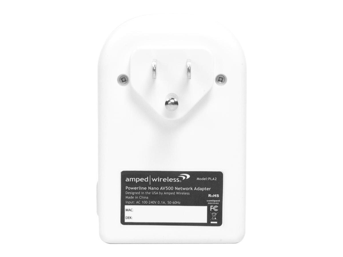 Amped Wireless Powerline Nano AV500 1-Port Network Adapter Kit (PLA2) by Amped Wireless (Image #3)