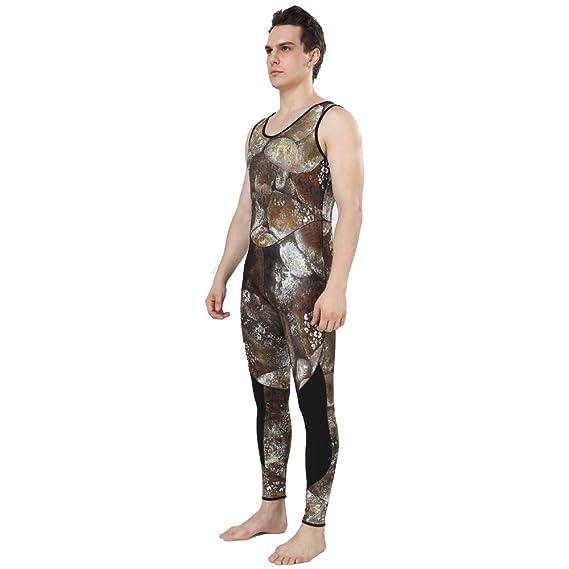 Amazon.com: realon traje de neopreno 5 mm completo ...