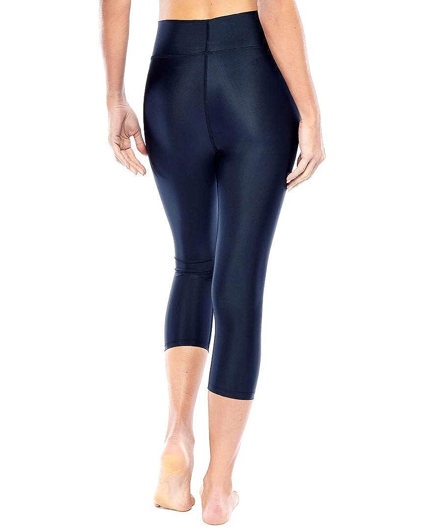 c5dfaeb458fd8 Amazon.com: Electric Yoga Orions Capri Leggings - Womens Black Star Print  High Waisted Spandex Legging Workout Pants - MSRP $118: Clothing