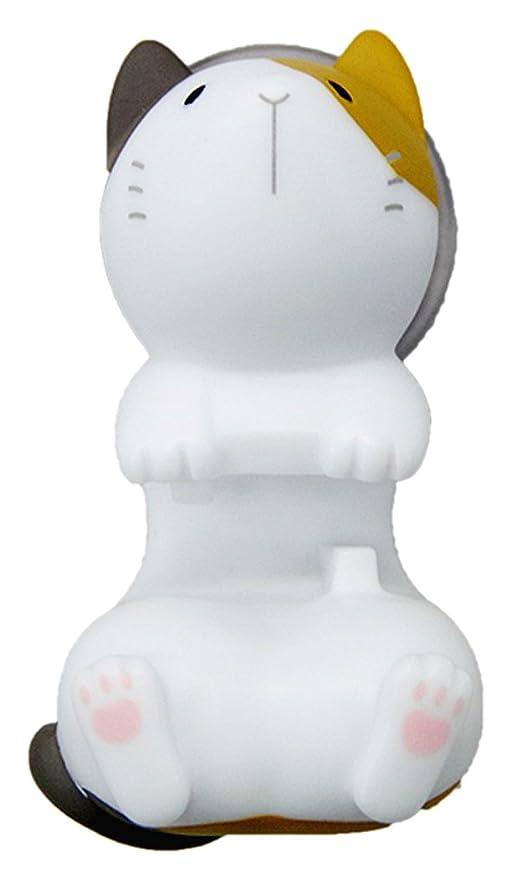 Gato soporte en forma de taza de la succión del cepillo de dientes (gato de