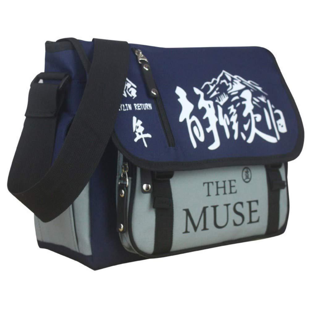 Manga School Bag Series, Shoulder Bag: Naruto, Titan, Totoro, Tokyo Ghoul, Muse (Attack The Titan)
