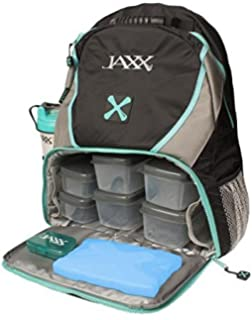 e431debe5762 Jaxx FitPak Meal Prep Backpack with Portion Control Container Set