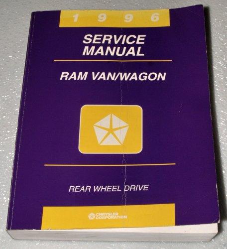 1996 Dodge Ram Van/Wagon Factory Service Manual (1500 2500 3500) -
