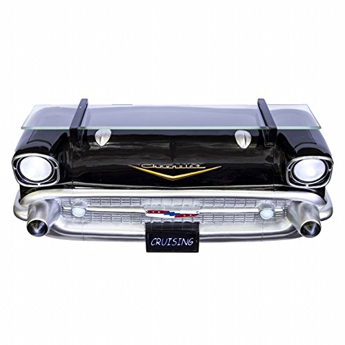 Chevrolet 1957 Bel Air Black Front End Wall Shelf (Working Lights)