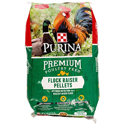 Purina Animal Nutrition Flock Raiser Pellets 50lb