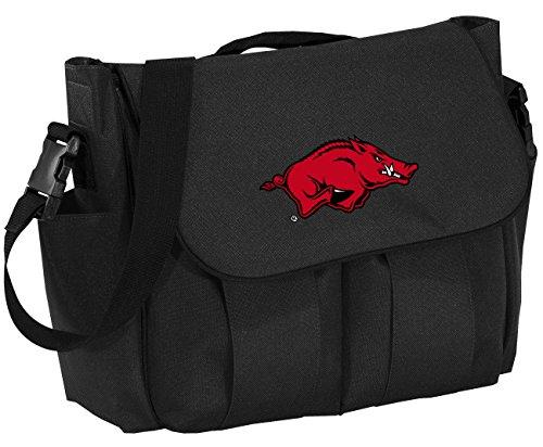 University of Arkansas Diaper Bag Arkansas Razorbacks Baby Shower Gift for Dad o ()