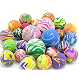 Bouncing Ball Rubber Ball Assortment - 25 Balls in Assorted Colors
