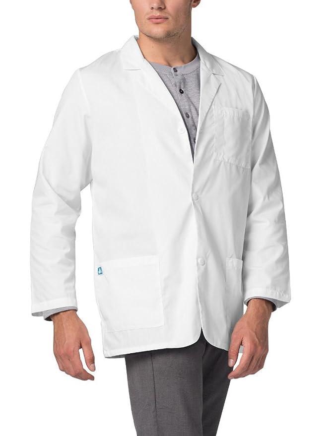 Adar Bata Médica de Laboratorio para Hombres, Doctores y Científicos: Amazon.es: Ropa y accesorios