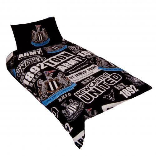 Newcastle United Football Club Single Duvet Set Quilt Cover Pillow Case Bedding Other